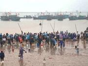Le marché aux poissons de Giao Hai