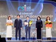 Publication de la liste des 100 entreprises de développement durable du Vietnam en 2016
