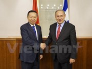 Le ministre vietnamien de la Sécurité publique en tournée de travail en Israël