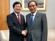 Le Vietnam et le Japon conviennent d'intensifier la confiance politique