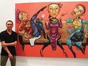 Le salut des peintres vietnamiens passe par l'étranger