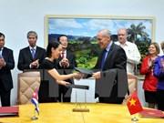 Clôture de la 34e session du Comité intergouvernemental Vietnam-Cuba