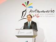 Le président Tran Dai Quang au 16e Sommet de la Francophonie