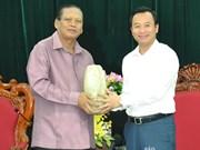 Da Nang et Champassak entretiennent d'une solide coopération