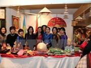Le Vietnam à la foire de charité Bazaar en Ukraine