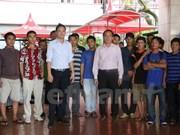 Cinquante-sept pêcheurs arrêtés en Indonésie rapatriés au Vietnam