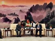 Vietnam - Chine: Vers le développement du partenariat stratégique intégral
