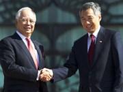 Malaisie et Singapour signent un accord sur la construction du chemin de fer à grande vitesse