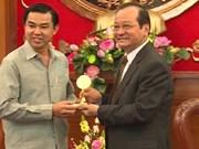 Tiên Giang booste sa coopération avec Khammouane (Laos)