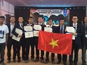 Des Vietnamiens primés aux Olympiades internationales d'astronomie et de physique astronomique