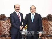 Le nouvel ambassadeur du Qatar reçu par le PM