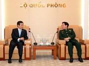Le général Ngô Xuân Lich reçoit le vice-ministre sud-coréen de la Défense