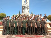 Un monument de l'amitié Vietnam-Cambodge inauguré à Kompong Thom