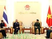Vietnam et Thaïlande scellent leur coopération dans la défense
