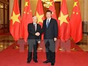 Nguyen Phu Trong achève avec succès sa visite officielle en Chine