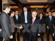 Le chef du Parti souligne le rôle des entreprises dans les relations Vietnam-Chine