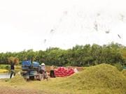 La restructuration aspire à une agriculture verte