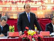 Le PM Nguyên Xuân Phuc formule ses voeux du Têt à Thua Thiên-Huê