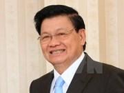 Le PM laotien arrive au Vietnam pour la 39e session du Comité intergouvernemental Vietnam-Laos