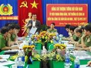 Quang Nam : garantir la sécurité des activités de l'APEC 2017