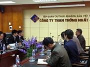 La compagnie du charbon Thông Nhât renforce sa coopération avec le Japon