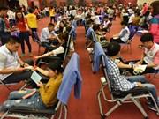 Fête du printemps rouge 2017 : du sang pour sauver des vies