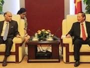 Le Vietnam et l'Inde resserrent leur coopération dans les TI et les postes