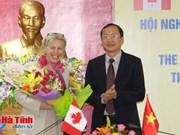 Le Canada aide Hà Tinh à développer l'agriculture intelligente face au climat