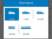 123Xe, nouvelle application de transport au Vietnam