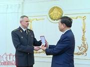 Le ministre vietnamien de la Sécurité publique participe au centenaire de la police biélorusse