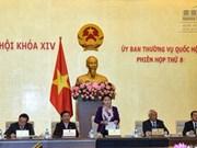 Ouverture de la 8e session du Comité permanent de l'Assemblée nationale
