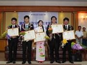 Distinction des dix jeunes illustres du Vietnam de 2016