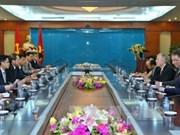 Vietnam-Etats-Unis : coopération dans les technologies de l'information