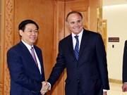 Le vice-PM Vuong Dinh Hue travaille avec les dirigeants de BNP Paribas sur l'actionnarisation