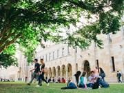 Bourses «Endeavour» du gouvernement australien en faveur d'étudiants vietnamiens