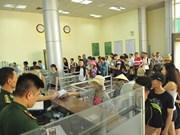 Exemption de frais de visa de sortie au poste frontalier de Mong Cai pour les Vietnamiens
