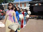 Le Vietnam à la fête du printemps à Bruxelles