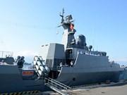 Des navires vietnamiens participent à des activités à Singapour et en Chine