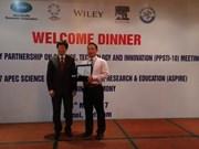 APEC 2017 : remise du prix ASPIRE 2017 à Hanoï