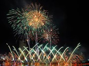 Clôture du Festival international de Feux d'artifice de Da Nang (DIFF) 2017