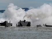 L'Indonésie et les États-Unis effectuent une manœuvre commune