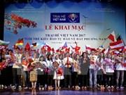 Ouverture de la colonie de vacances d'été des jeunes Viet kieu à Ho Chi Minh-Ville