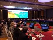 La troisième réunion des hauts officiels (SOM3) de l'APEC débute à Ho Chi Minh-Ville
