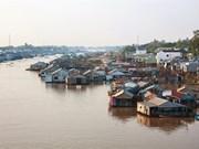 Le village piscicole en radeaux de Châu Dôc