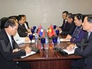 AIPA-38 : Tong Thi Phong à la rencontre des dirigeants de l'AN des pays