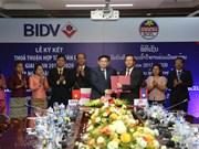 La BIDV et la Banque pour le commerce extérieu du Laos renforcent leur coopération