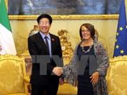 Le Vietnam et l'Italie stimulent la coopération législative