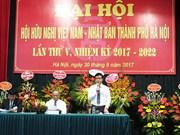 Vietnam-Japon : promotion de la solidarité et de l'amitié entre les deux peuples