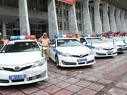 APEC 2017: 200 policiers de Hanoï mobilisés pour la Semaine de l'APEC
