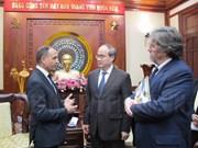 Hô Chi Minh-Ville et la France coopèrent dans les transports et le développement urbain